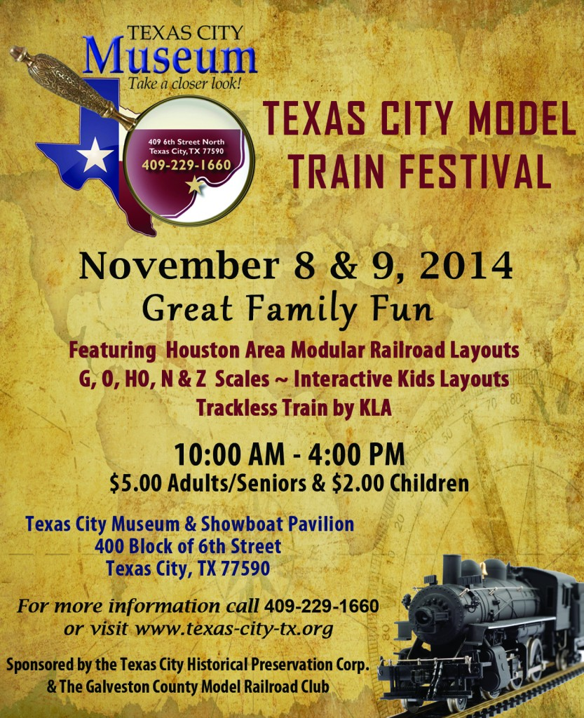 2014 Texas City Model Train Festival