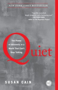Quiet book cover by Susan Cain