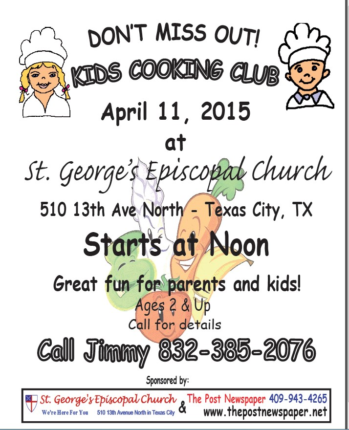 Kids Cooking Club