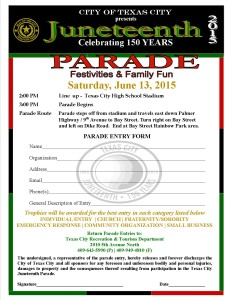 Juneteenth 2015 Parade Flyer-Entry Formdw logo