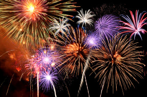 Firework Show & Movie on the Dike @ Texas City Dike Beach