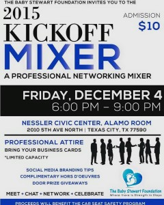 2015 Kickoff Mixer @ Nessler Civic Center, Alamo Room | Texas City | Texas | United States