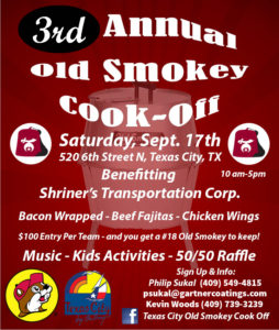 3rd Annual 6th Street Old Smokey Cook-off @ El Cubano Cigars