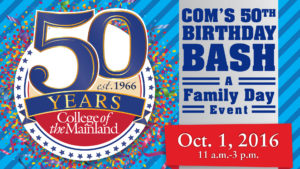 College of the Mainland's 50th Birthday Bash @ College of the Mainland | Texas City | Texas | United States