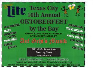 16th Annual Oktoberfest by the Bay @ 16th Oktoberfest by the Bay | Texas City | Texas | United States