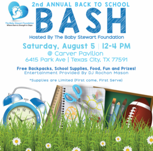 2nd Annual Back to School Bash @ Carver Pavilion  | Texas City | Texas | United States