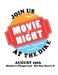Movie at the Dike: Concert, Fireworks & Movie @ Rainbow Park