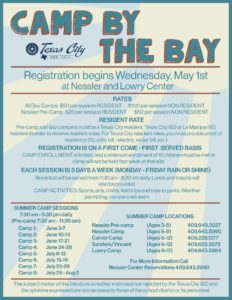 Summer Camp By The Bay @ City Hall